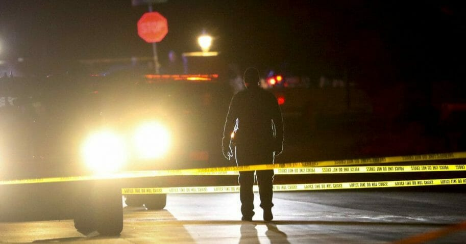 Police investigate after four people were killed