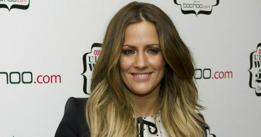 British TV personality Caroline Flack
