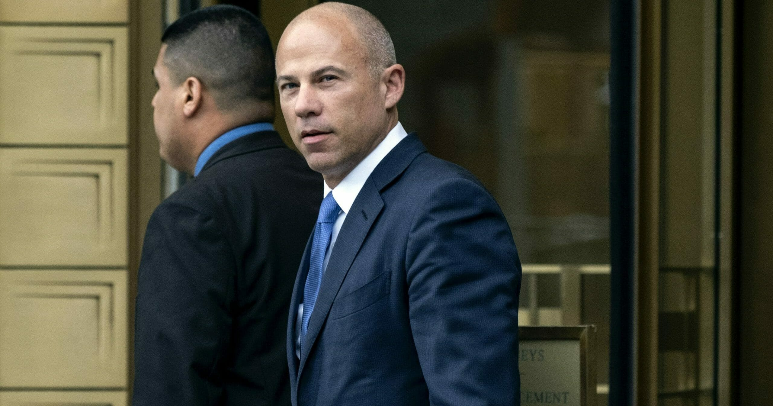 In this July 23, 2019, file photo, California attorney Michael Avenatti walks from a courthouse in New York after facing charges.
