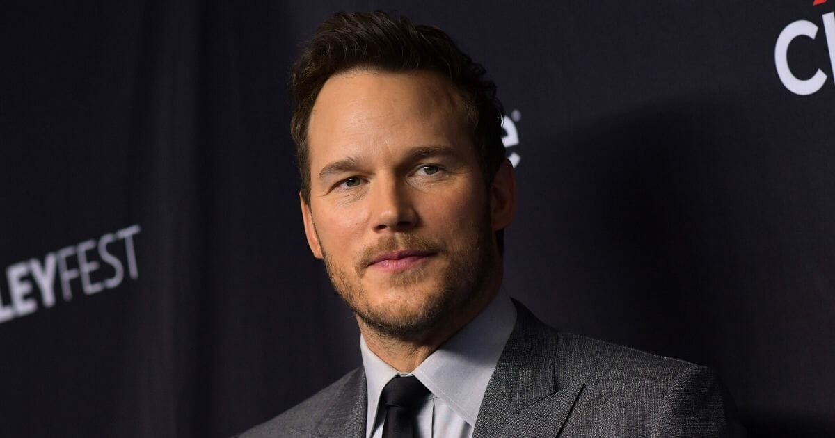 """Actor Chris Pratt arrives for the PaleyFest presentation of NBC's """"Parks and Recreation"""" 10th Anniversary Reunion at the Dolby Theatre on March 21, 2019, in Hollywood."""
