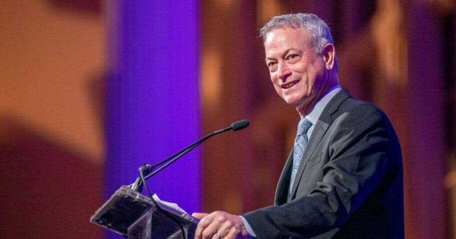 Gary Sinise on stage