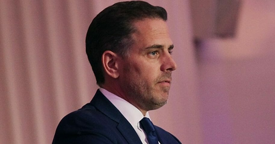 Hunter Biden, the son of Democratic presidential candidate and former Vice President Joe Biden, is seen in 2016.