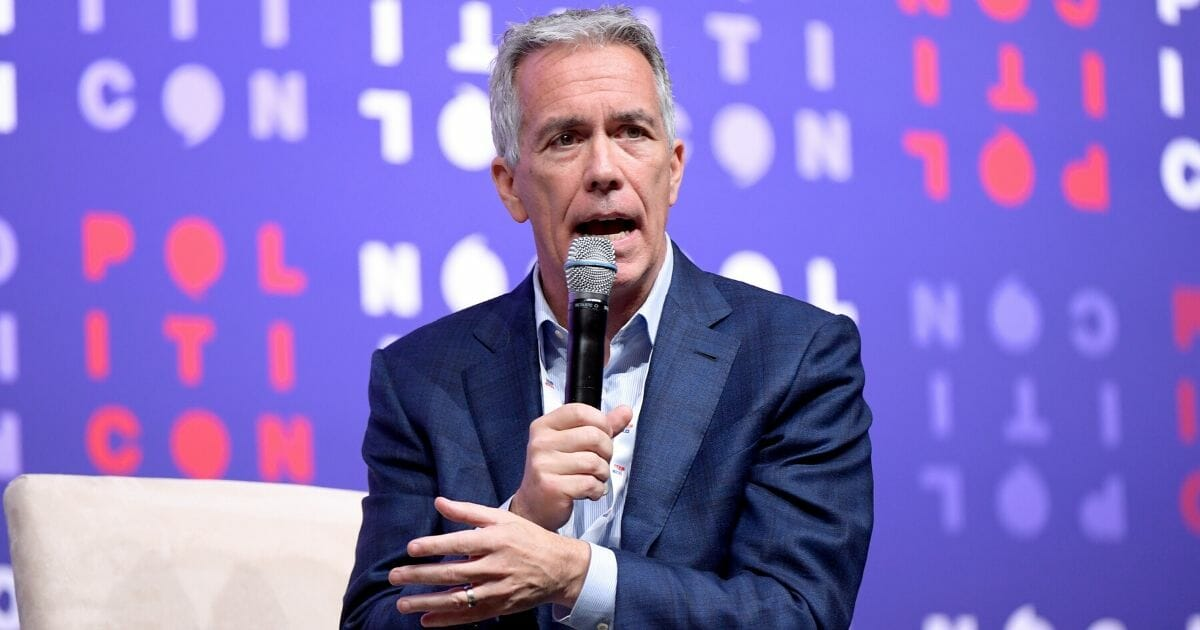 Rep. Joe Walsh speaks onstage during the 2019 Politicon at Music City Center on Oct. 26, 2019, in Nashville, Tennessee.