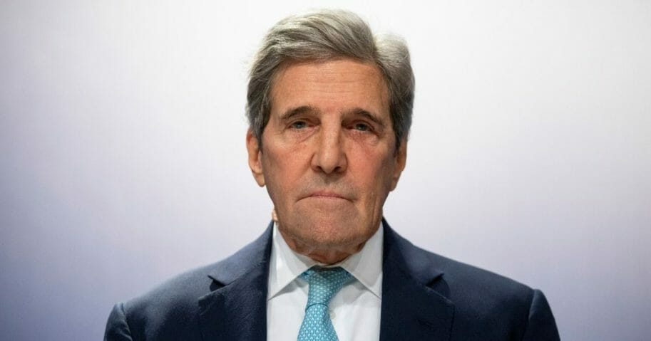 Former Secretary of State John Kerry attends a conference at the COP25 Climate Conference on Dec. 10, 2019, in Madrid.