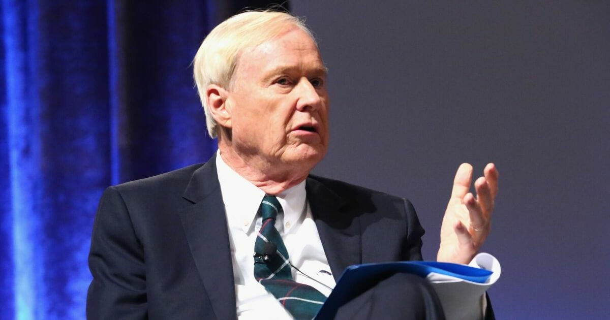 Chris Matthews speaks onstage at the 2015 Ripple Of Hope Awards on Dec. 8, 2015, in New York City.