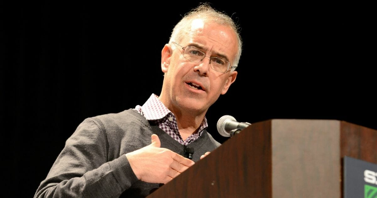 New York Times columnist David Brooks is pictured in a file photo from the 2015 South by Southwest Festival in Austin, Texas.