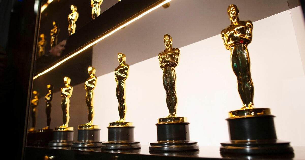 In this handout photo provided by A.M.P.A.S., Oscars statuettes are on display backstage during the 92nd Annual Academy Awards at the Dolby Theatre on Feb. 9, 2020, in Hollywood, California.