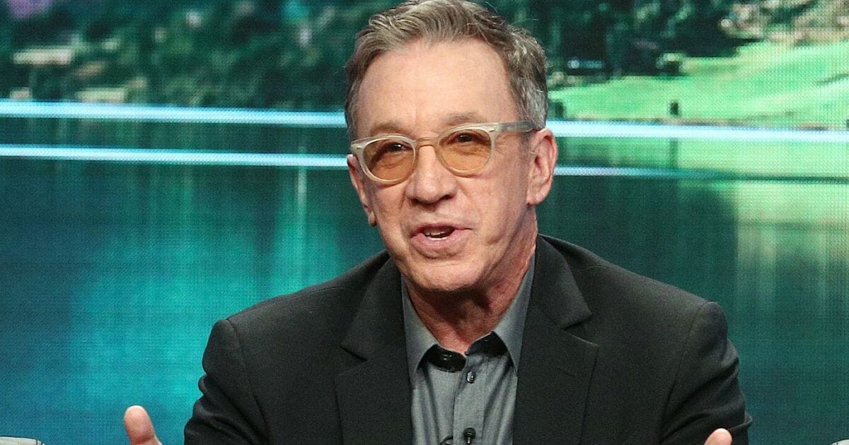 """Actor Tim Allen of the television show """"Last Man Standing"""" is pictured in a file photo from the 2018 Television Critics Association Press Tour at the Beverly Hilton Hotel in Beverly Hills, California."""