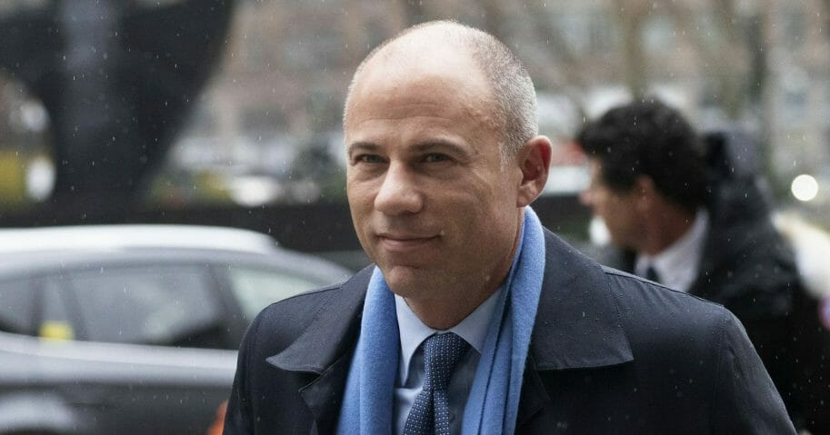 Michael Avenatti arrives at federal court in New York on Dec. 17, 2019.