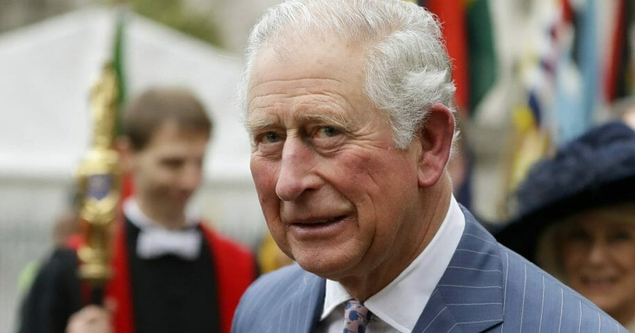 Britain's Prince Charles leaves after attending the annual Commonwealth Day service at Westminster Abbey in London on March 9, 2020.