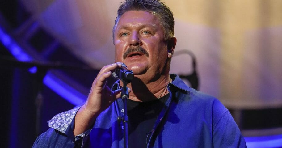 An Aug. 22, 2018 file photo shows Joe Diffie performing at the 12th annual ACM Honors in Nashville, Tennessee.