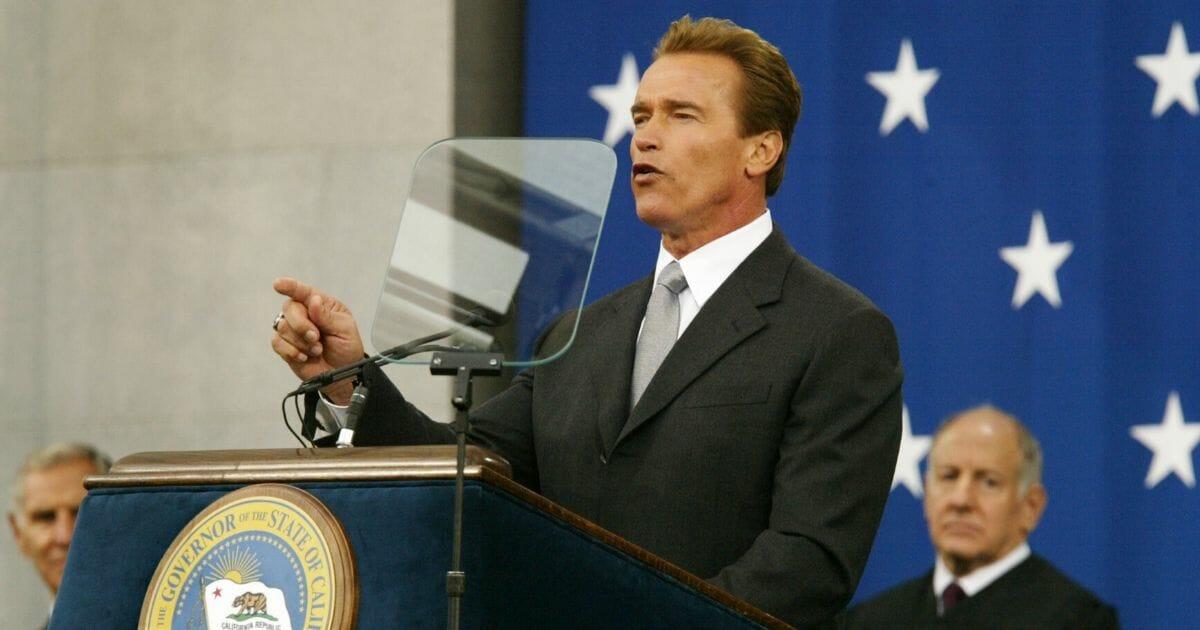 Gov Schwarzenegger