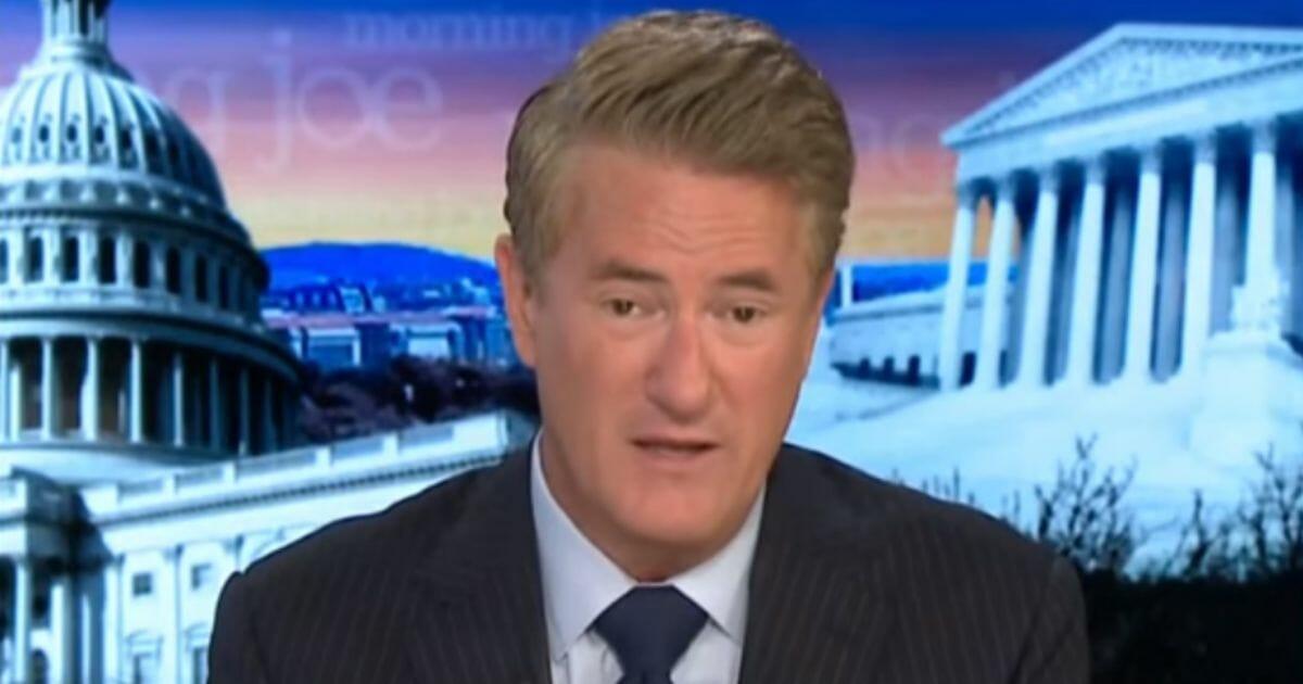 MSNBC host Joe Scarborough.