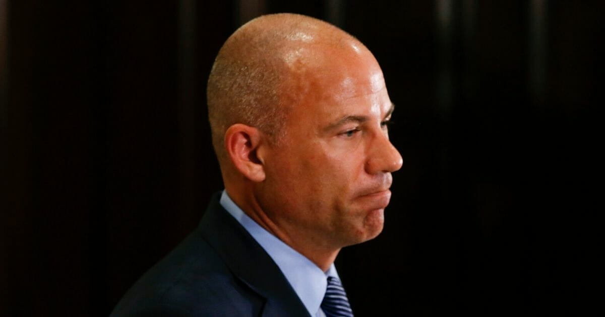 Michael Avenatti is seen at the Four Seasons on July 15, 2019, in Chicago, Illinois.