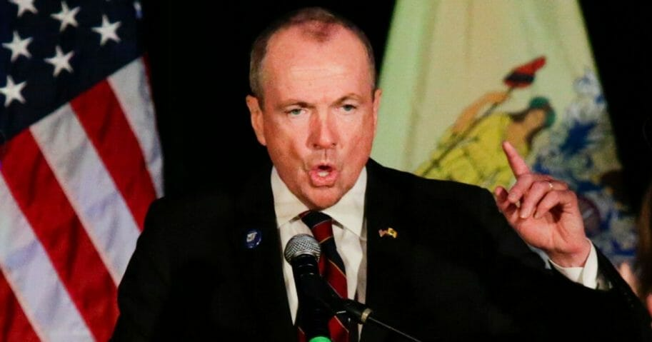 New Jersey Gov.-elect Phil Murphy speaks in 2017.