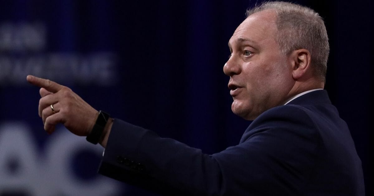 House Minority Whip Rep. Steve Scalise (R-Louisiana) speaks during the annual Conservative Political Action Conference at Gaylord National Resort & Convention Center on Feb. 27, 2020, in National Harbor, Maryland.
