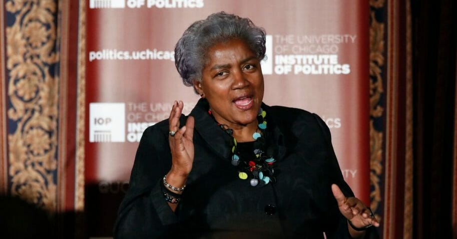 Former Democratic National Committee Chairwoman Donna Brazile is pictured in a file photo from 2017 at the University of Chicago.