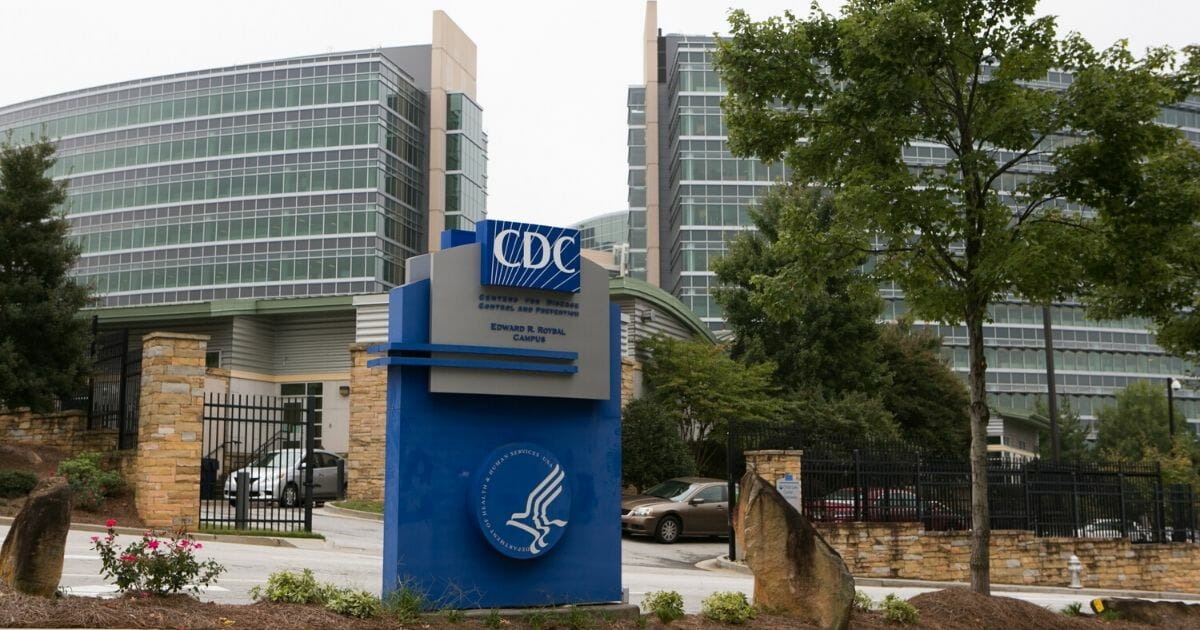 The Centers for Disease Control's sprawling heaquarters is pictured in Atlanta.