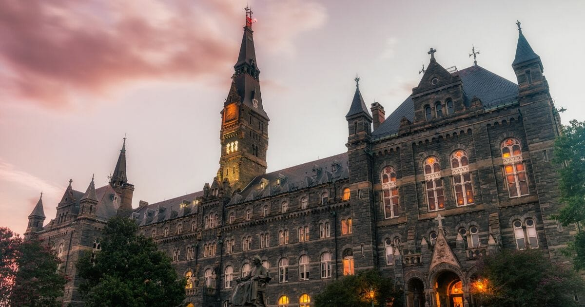 A building on the campus of Georgetown University in Washington, D.C.