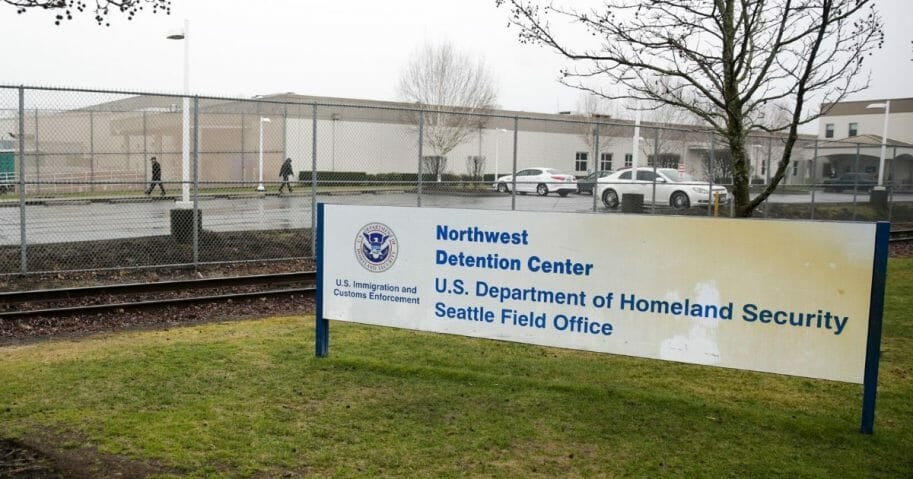 The Department of Homeland Security Northwest Detention Center is pictured in Tacoma, Washington, on Feb. 26, 2017.