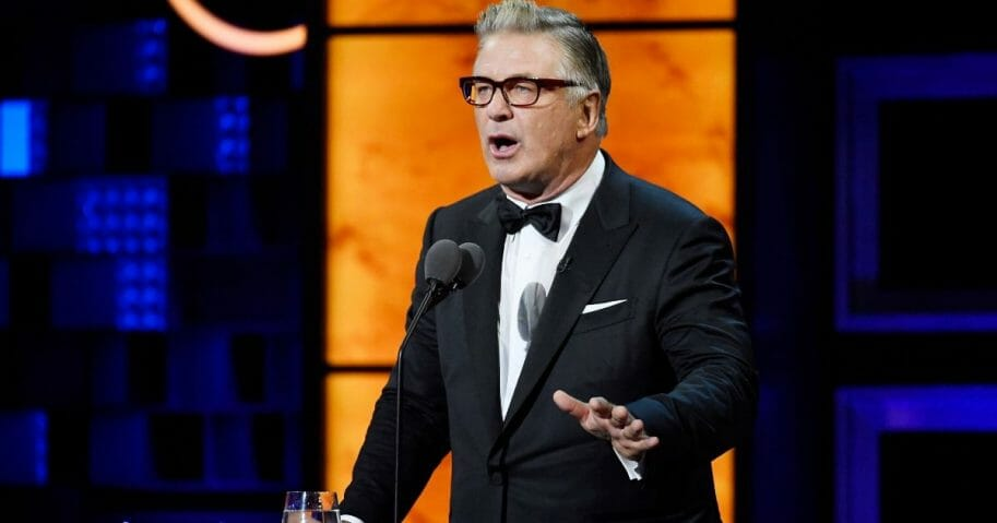 Alec Baldwin speaks onstage at the Comedy Central Roast of Alec Baldwin at Saban Theatre on Sep. 7, 2019, in Beverly Hills, California.