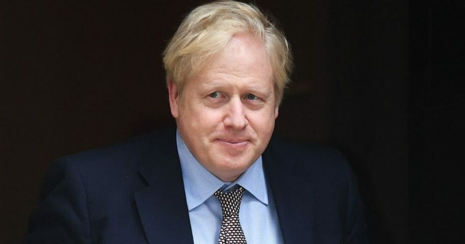 Prime Minister Boris Johnson leaves Downing Street in London on March 4, 2020.