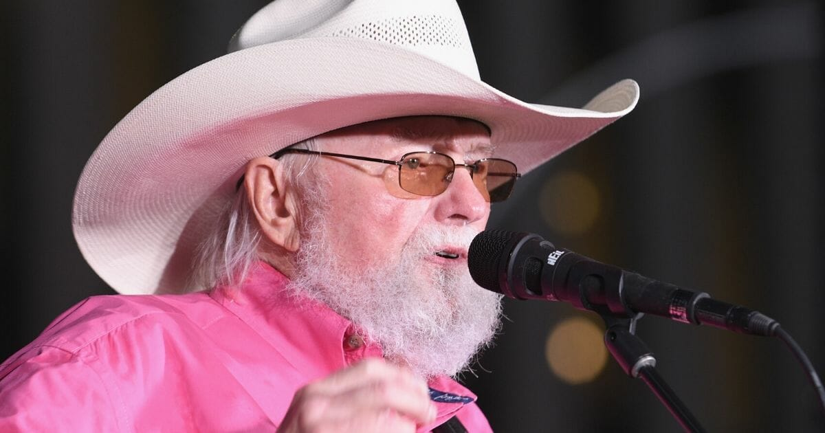 """Charlie Daniels performs during Fox News Channel's """"Fox & Friends"""" All-American Summer Concert Series on June 21, 2019, in New York City."""
