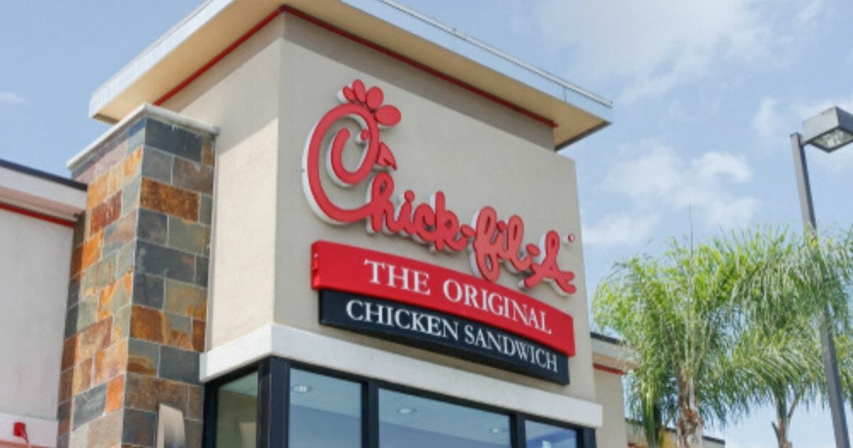 A Chick-fil-A restaurant is iseen in the stock image above.