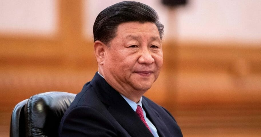 Chinese President Xi Jinping attends a meeting at the Great Hall of the People in Beijing on June 25, 2019.