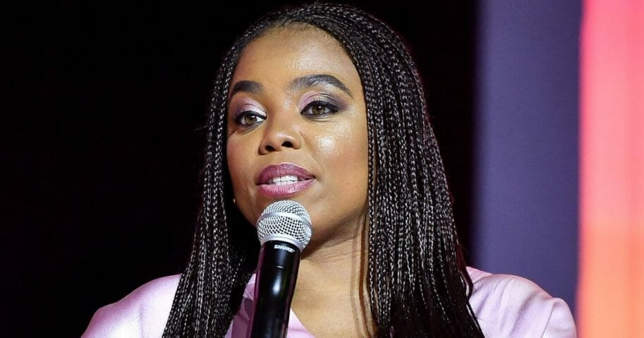 Jemele Hill speaks during the Essence Festival at the Ernest N. Morial Convention Center in New Orleans on July 5, 2019