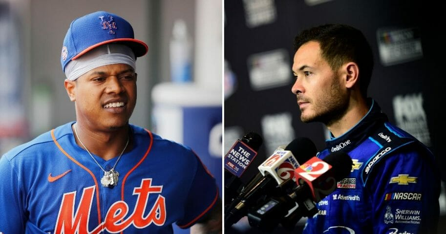 New York Mets star pitcher Marcus Stroman wants to fight NACAR driver Kyle Larson after the auto racer was recorded using a racial slur while competing in a live-streamed video game tournament Sunday.