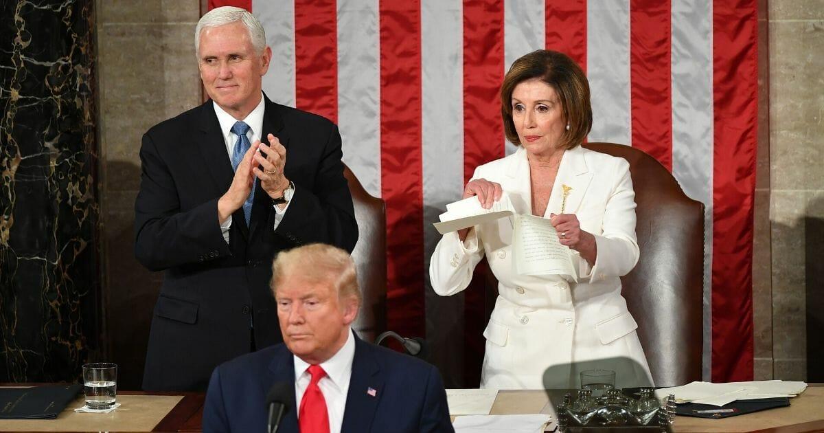 Nancy Pelosi State of the Union 1