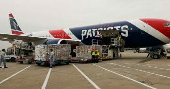 Out of season and out of commission for the foreseeable future due to the ongoing COVID-19 pandemic, the New England Patriots' private plane made an uncharacteristic journey abroad this week.
