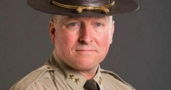 Franklin County, Maine, Sheriff Scott Nichols.