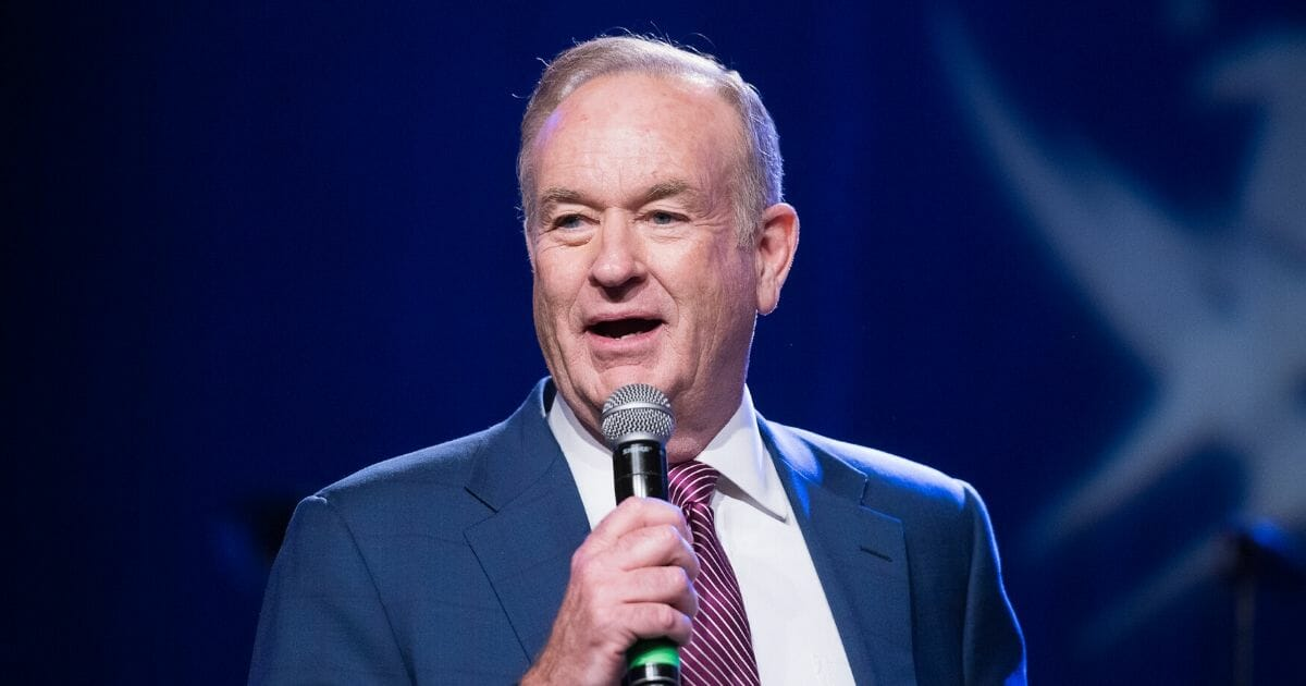 Political commentator Bill O'Reilly attends the Rock The Boat Fleet Week Kickoff Concert at Hard Rock Cafe in Times Square on May 21, 2015, in New York City.