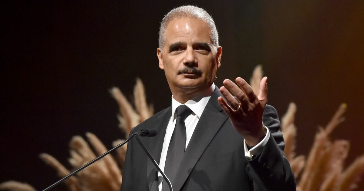 Former Attorney General Eric Holder, pictured duringaCity Of Hope Spirit event in Santa Monica, California, in 2019.