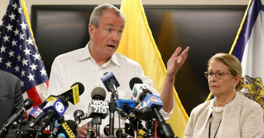New Jersey Gov. Phil Murphy, pictured at a 2019 news conference.