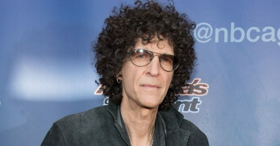 "Radio shock jock Howard Stern, pictured at a 2015 ""America's Got Talent"" event."