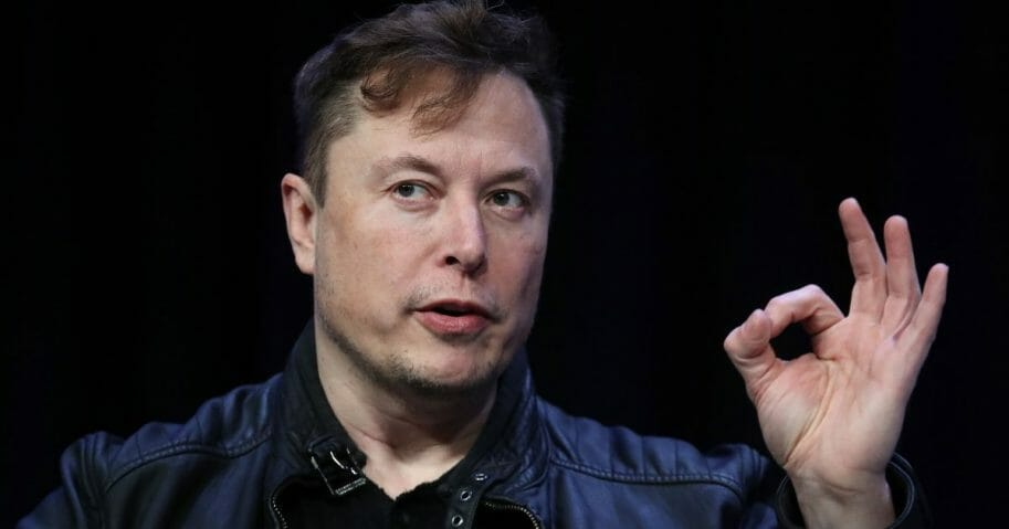 Elon Musk, founder and chief engineer of SpaceX speaks at the 2020 Satellite Conference and Exhibition on March 9, 2020, in Washington, D.C.