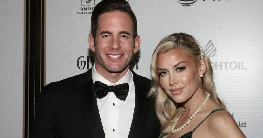 Tarek El Moussa's girlfriend, Heather Rae Young, sent El Moussa's ex a lovely bouquet of flowers for Mother's Day.