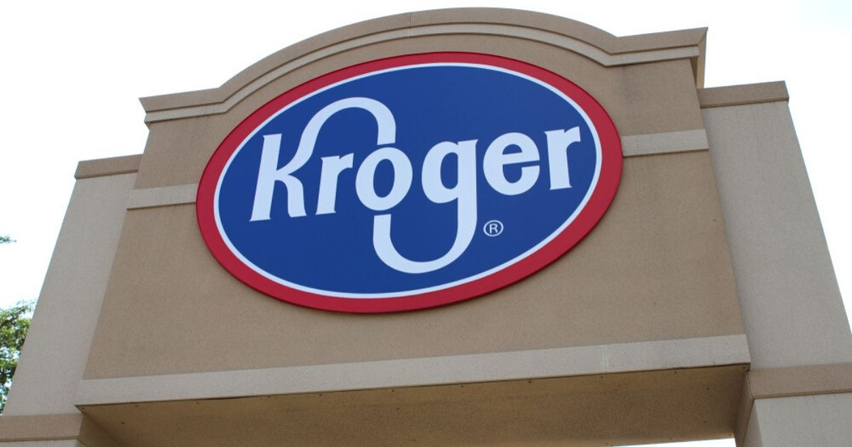 A Kroger store in Ohio is seen above.