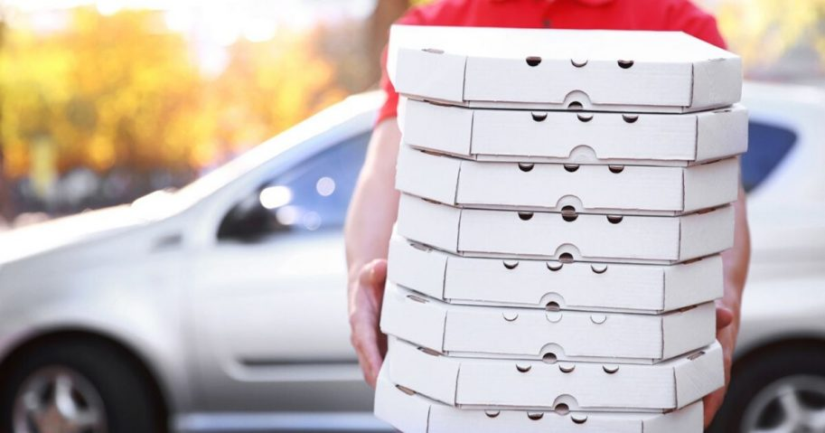 A stock photo of pizza is seen above.