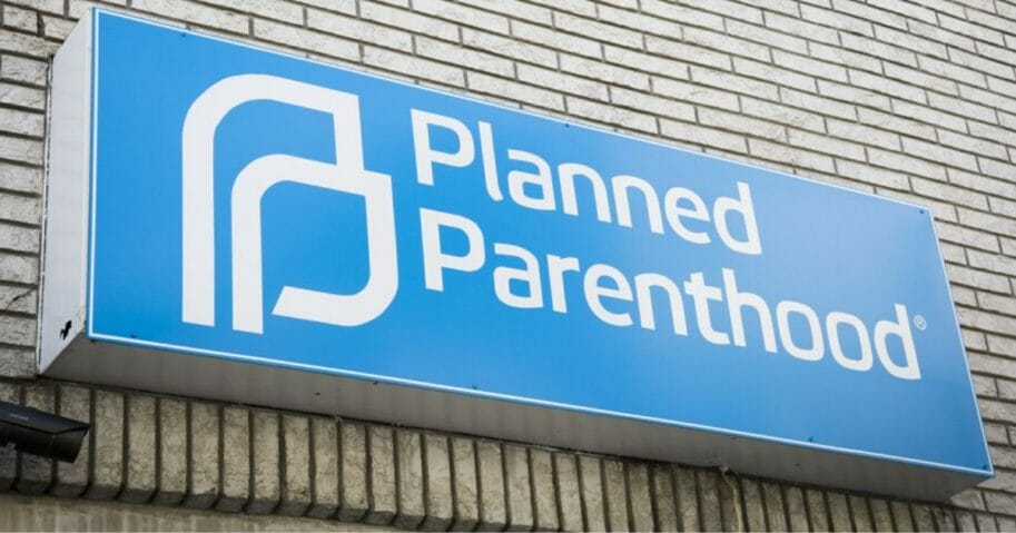 A planned Parenthood clinic in New Jersey is seen in the image above.
