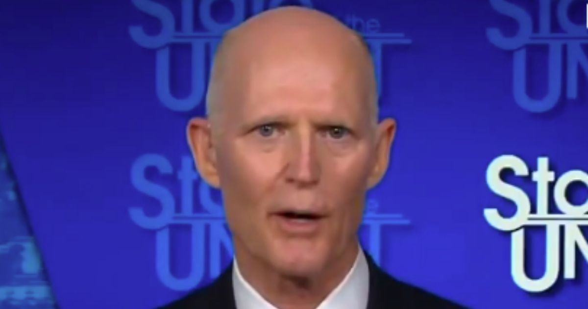 Florida Senator Rick Scott leaves no doubts about where he stands.