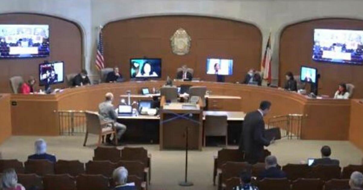 The San Antonio City Council at work.