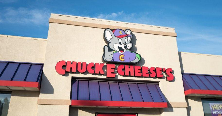 A Chuck E. Cheese location in Dublin, California, on July 23, 2018.