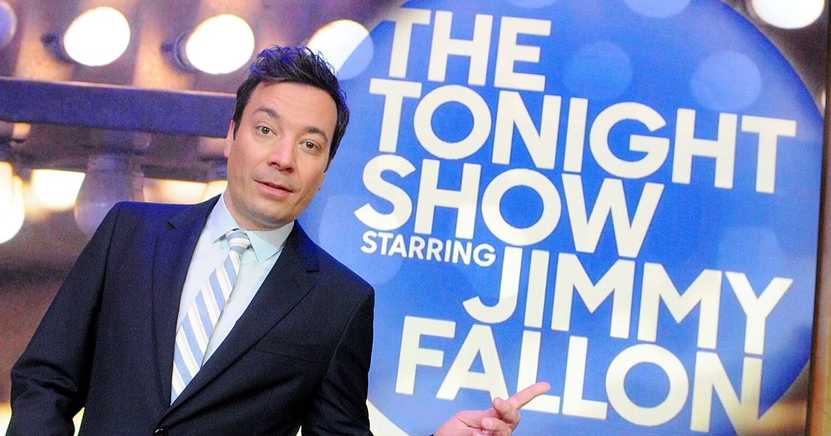 """Comedian Jimmy Fallon poses during a presentation for the media of the Universal Orlando's Newest Attraction """"Race Through New York Starring Jimmy Fallon"""" at Universal Orlando on April 3, 2017, in Orlando, Florida."""