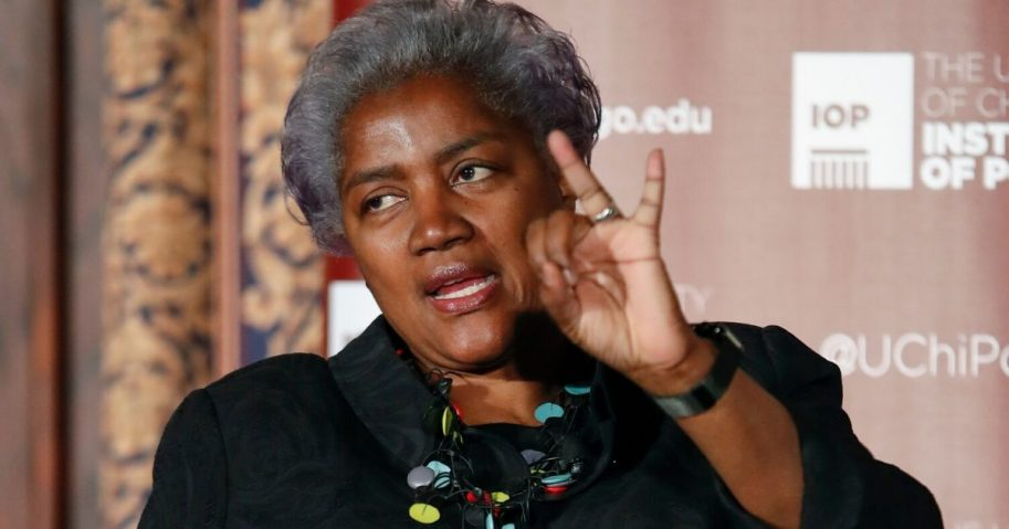 Former Democratic National Committee Chairwoman Donna Brazile is pictured speaking in a 2017 file photo.