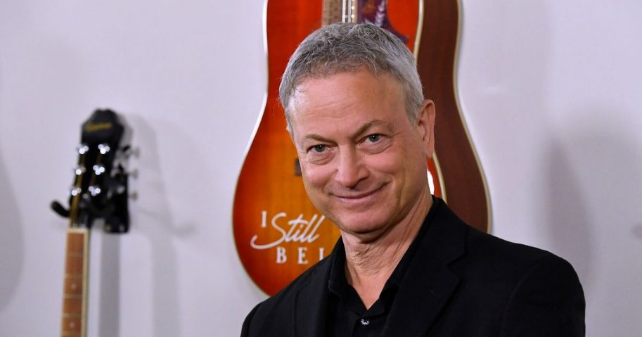 "Actor Gary Sinise attends the premiere of Lionsgate's ""I Still Believe"" at ArcLight Hollywood on March 7, 2020, in Hollywood, California."