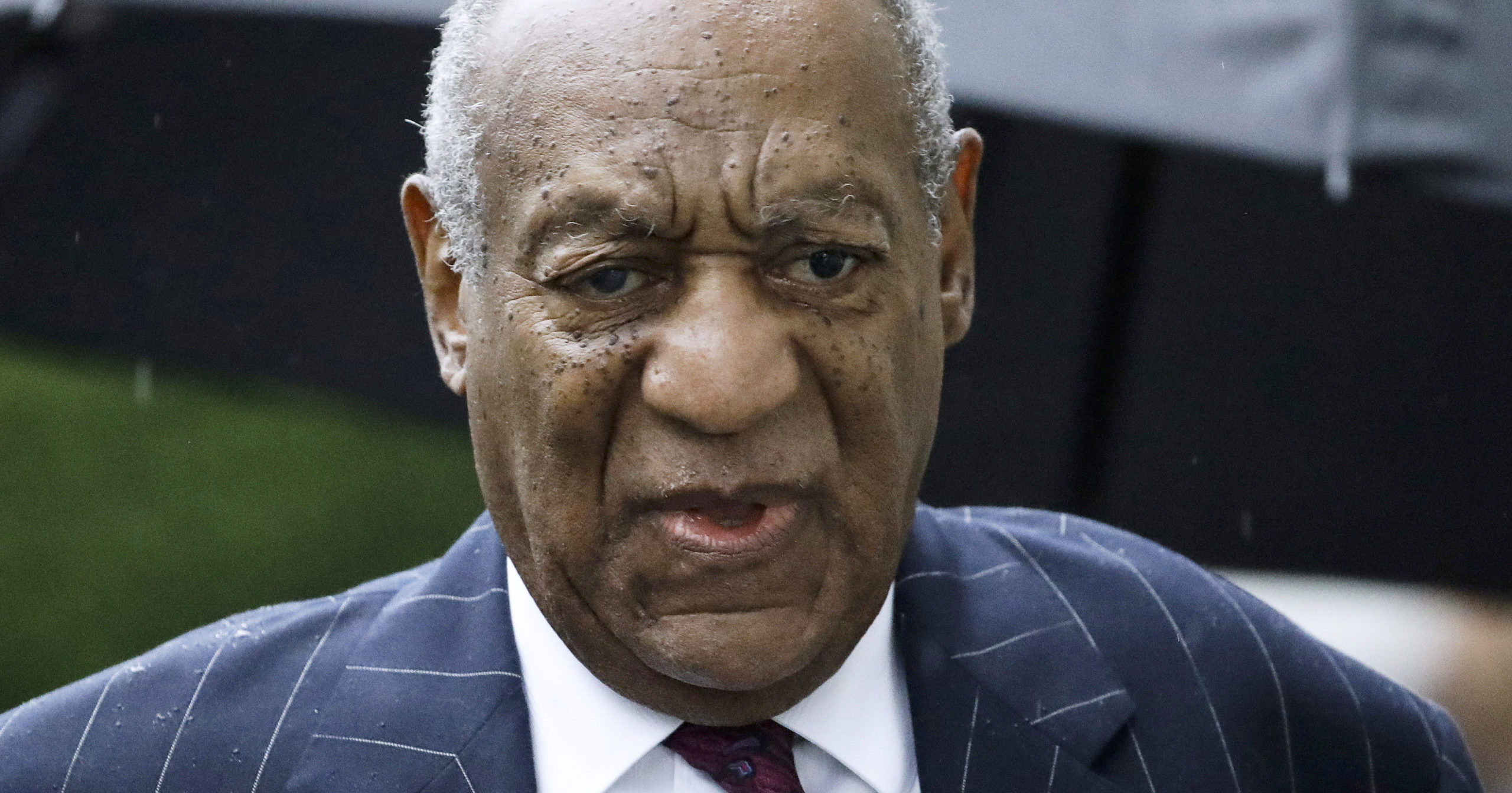 In this Sept. 25, 2018, file photo, Bill Cosby arrives for a sentencing hearing following his sexual assault conviction at the Montgomery County Courthouse in Norristown Pennsylvania. Cosby has won the right to fight his 2018 sexual assault conviction before the Pennsylvania Supreme Court.